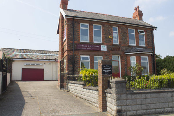 J W Bell Funeral Directors in Moreton, Wirral.