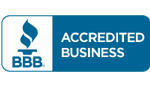 Proud member of the Better Business Bureau