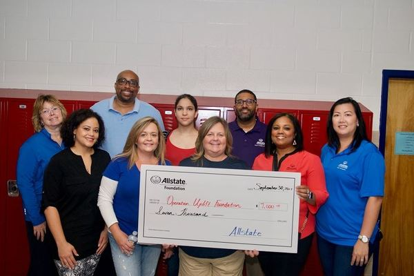 Denni Cravins - Allstate Foundation Grant for the Operation Uplift Foundation