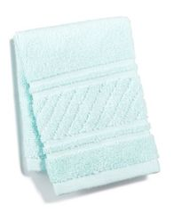 Image of Martha Stewart Collection Spa Washcloth, Created for Macy's