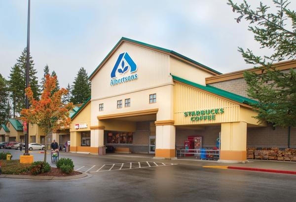 Albertsons Store Front Picture at 11330 NW 51st Ave in Gig Harbor WA