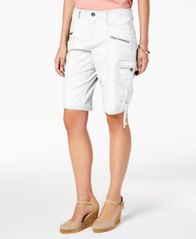 Image of Style & Co Petite Cargo Shorts, Created for Macy's