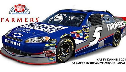Farmers® Insurance Group Sponsored Nascar Car