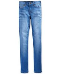 Image of Celebrity Pink Blue Lagoon Denim Skinny Jeans, Big Girls
