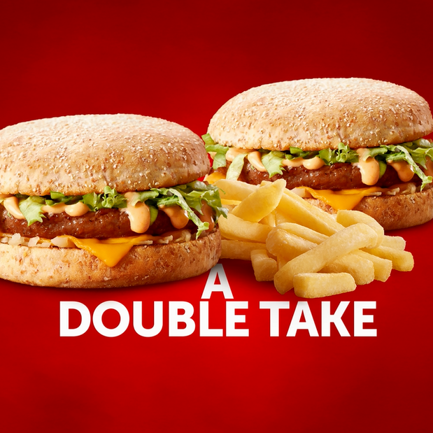 Image of 2 Quarterpounder Cheese Burgers & 2 Regular Chips Deal