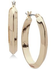 Image of Anne Klein Medium Hoop Earrings