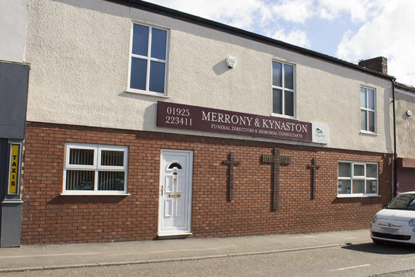 Merrony and Kynaston Funeral Directors in Earlestown, Newton Le Willows