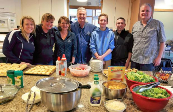 Shelly Cibulka - Volunteering at Ronald McDonald House of Madison