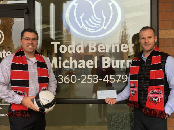 Todd Berner - Support for Washington Timbers Football Club Through Allstate's Youth Soccer Program