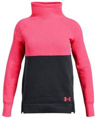 Image of Under Armour Big Girls Rival Colorblocked Sweatshirt