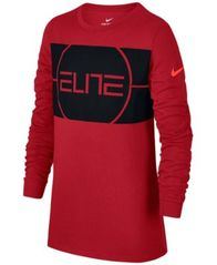 Image of Nike Dri-FIT Elite Basketball T-Shirt, Big Boys (8-20)