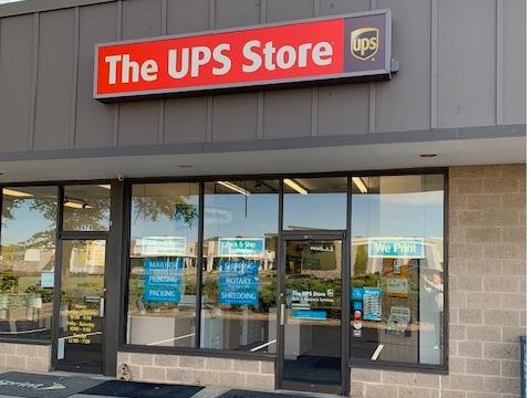The UPS Store Charlottesville store front photo