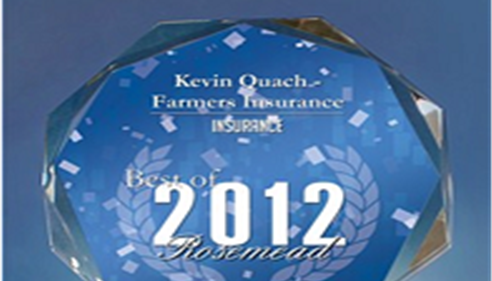 Farmers Insurance/Kevin Quach. Best Of 2012 Rosemead City.