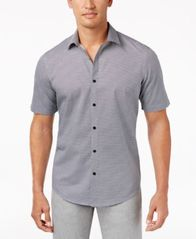 Image of Alfani Men's Tonal-Print Shirt, Created for Macy's