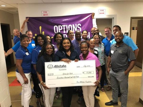 Frances Wright - Options for Youth Receives Allstate Foundation Helping Hands Grant