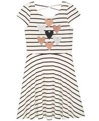 Image of Epic Threads Big Girls Striped Heart Skater Super-Soft Dress, Created for Macy's