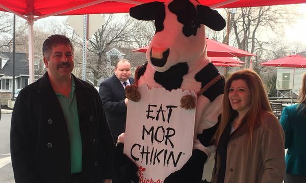 Stefanini Agency at Chick-fil-a Grand Opening