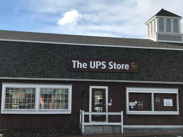 Facade of The UPS Store Avon
