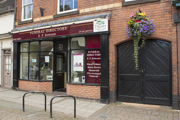 E F Edwards Funeral Directors in Tamworth