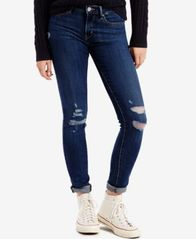 Image of Levi's® 711 Ripped Skinny Jeans