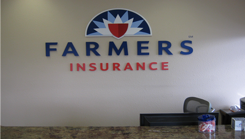 New Interior Farmers® Sign