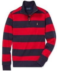 Image of Polo Ralph Lauren Big Boys Striped Cotton Pullover