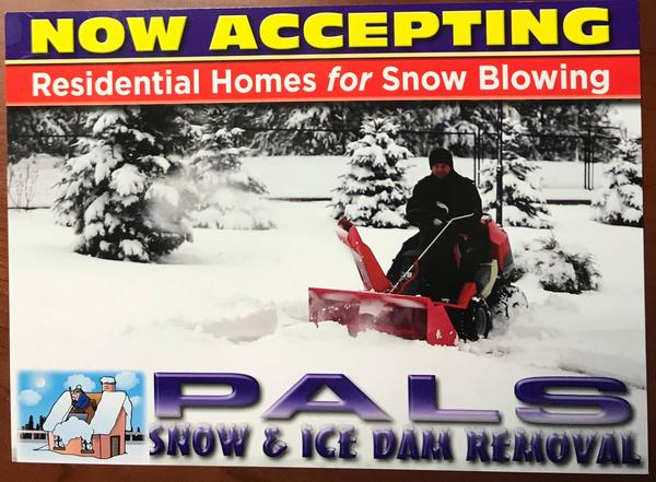 Pals Power Washing:  Ice and Snow Dam Removal