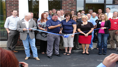 The Ken Teague Insurance Agency Ribbon Cutting Ceremony