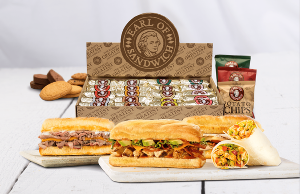 Earl of Sandwich Catering Packages