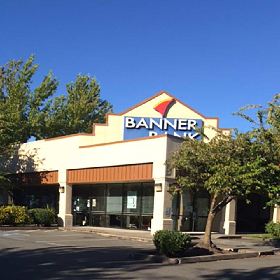 Banner Bank branch in Woodinville, Washington