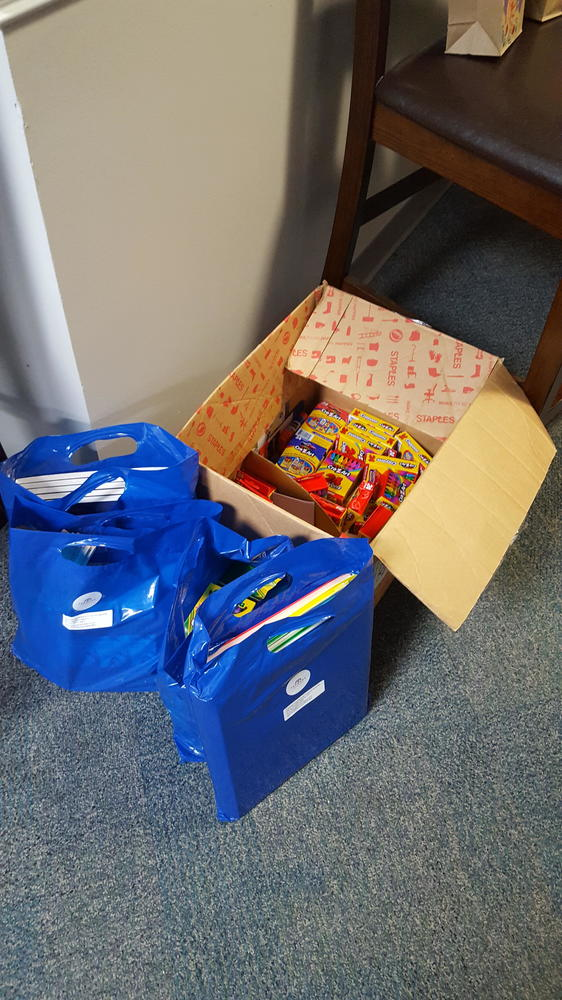 We are proud to support Wilson Elementary School teachers by donating school supplies.