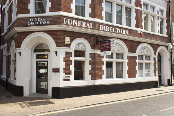 Serenity Funeral Directors in Eastbourne, East Sussex.