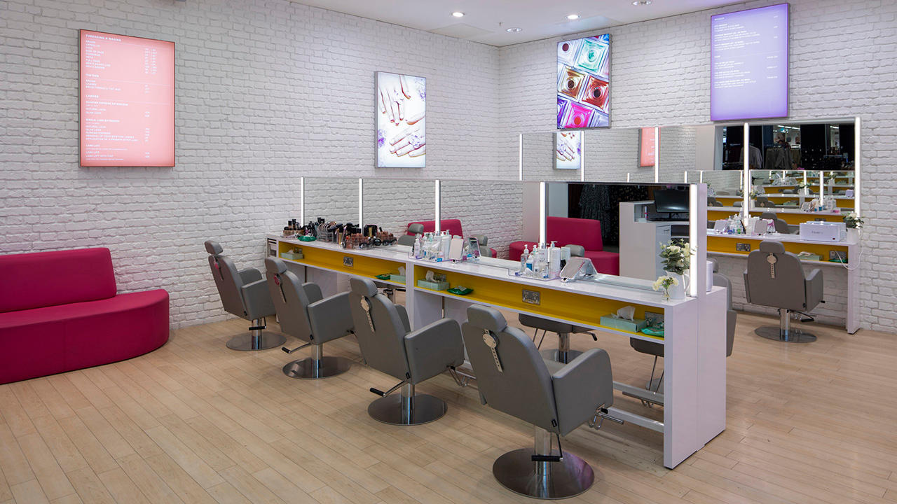 Inside Primark Beauty Studio in Manchester store