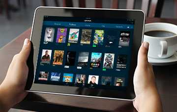 Stream TV on your tablet