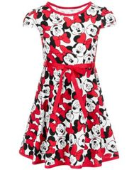 Image of Disney Little Girls Minnie Mouse Dress