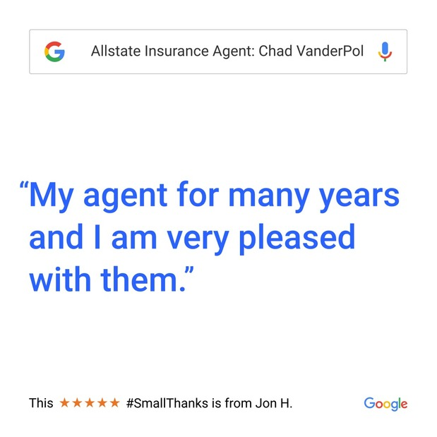 Chad VanderPol - Small Thanks with Google