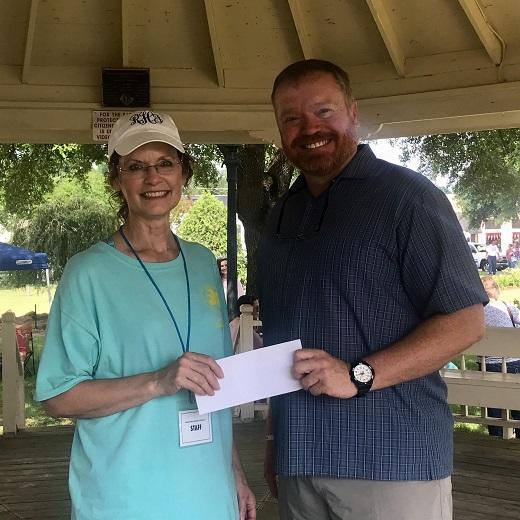 Luke Stevens - The Allstate Foundation Helps City of Headland Daylily Art and Garden Festival