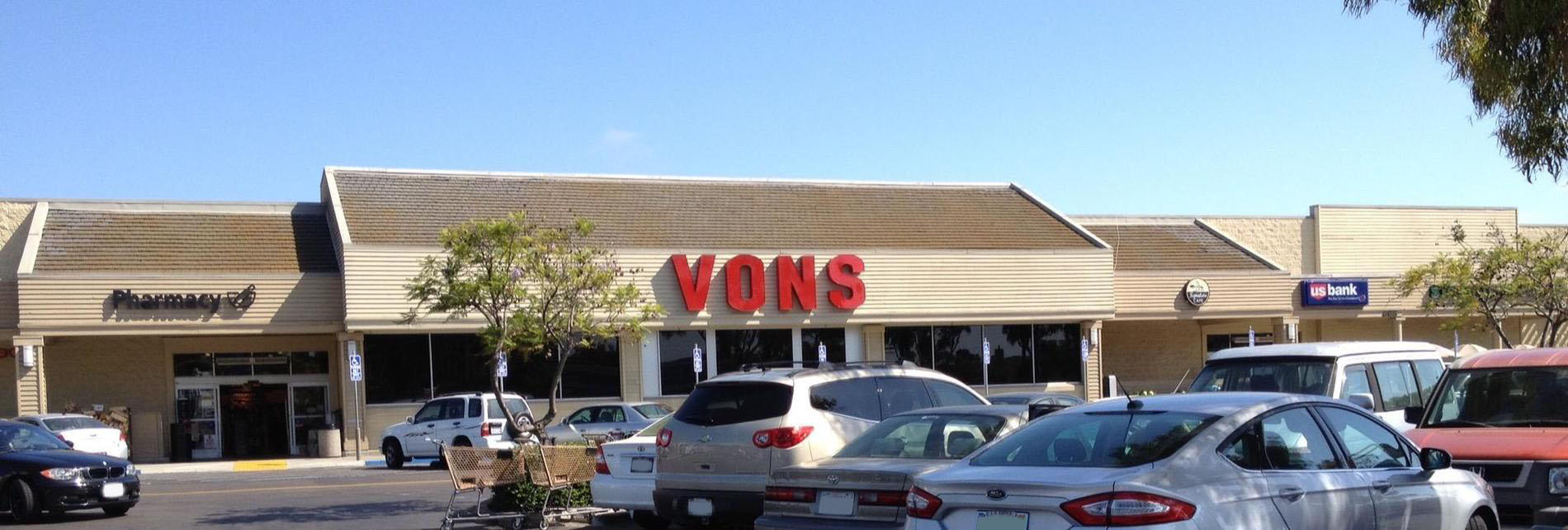 Vons Store Front Picture at 6155 El Cajon Blvd in San Diego CA