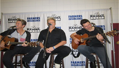 Farmers® Insurance brought Rascal Flatts to Las Cruces!!