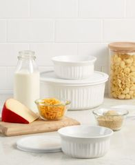Image of Corningware French White 6-Pc. Bakeware Set, Created for Macy's