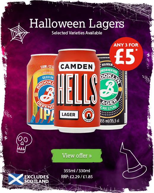 Halloween beers available at local participating Nisa Stores