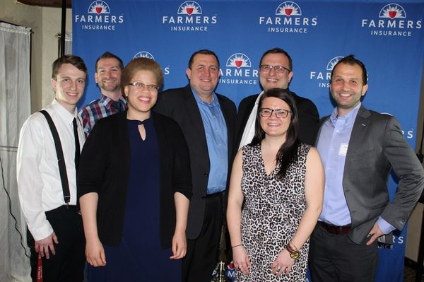 Team Photo at the 2018 Farmers District Awards