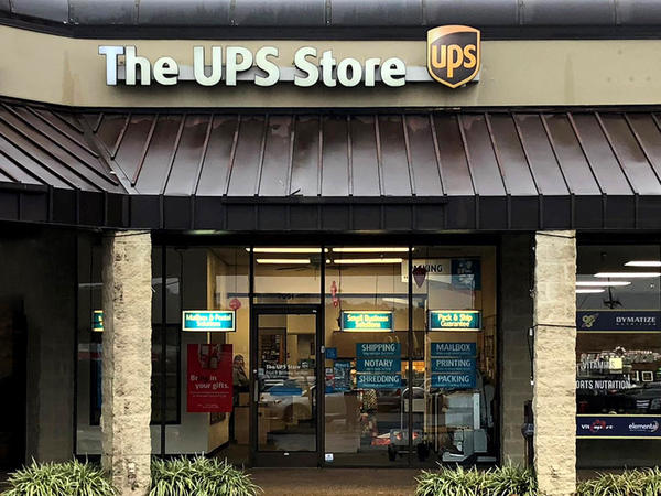 Facade of The UPS Store Nashville