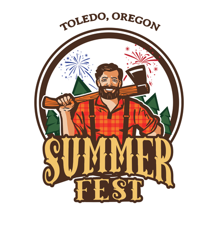 Toledo Summer Festival and Logging Show
