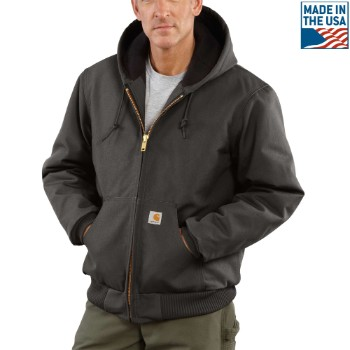 Image of DUCK QUILTED FLANNEL-LINED ACTIVE JAC