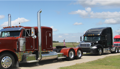 See us for your Trucking Insurance needs!