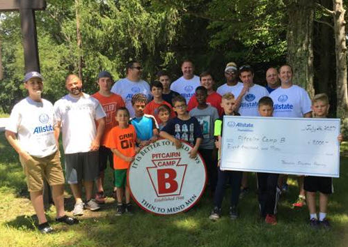 Dana Richter - Allstate Foundation Helping Hands Grant for Pitcairn Camp B