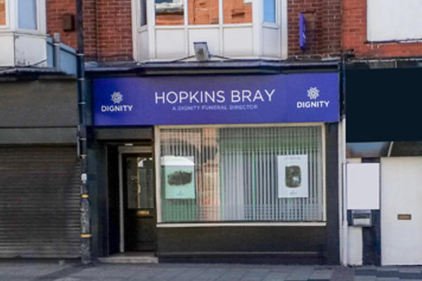 Hopkins Bray Funeral Directors in Urmston, Trafford.